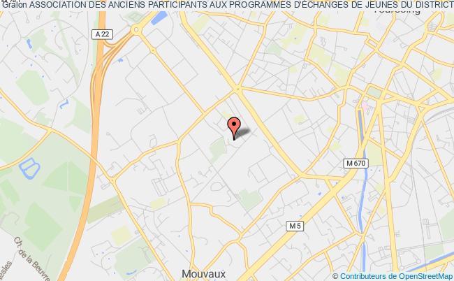 plan association Association Des Anciens Participants Aux Programmes D'Échanges De Jeunes Du District 1670 Du Rotary International (rotex 1670)