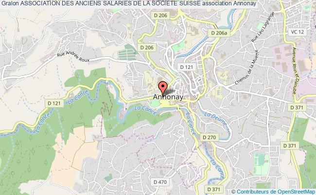 plan association Association Des Anciens Salaries De La Societe Suisse