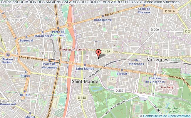 plan association Association Des Anciens Salaries Du Groupe Abn Amro En France Vincennes