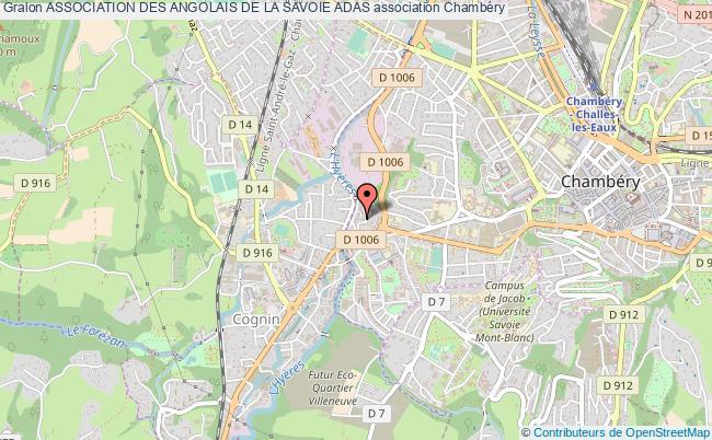 plan association Association Des Angolais De La Savoie Adas