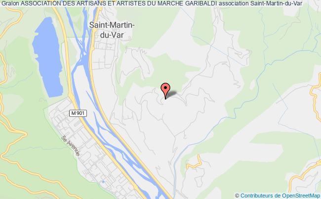 plan association Association Des Artisans Et Artistes Du Marche Garibaldi
