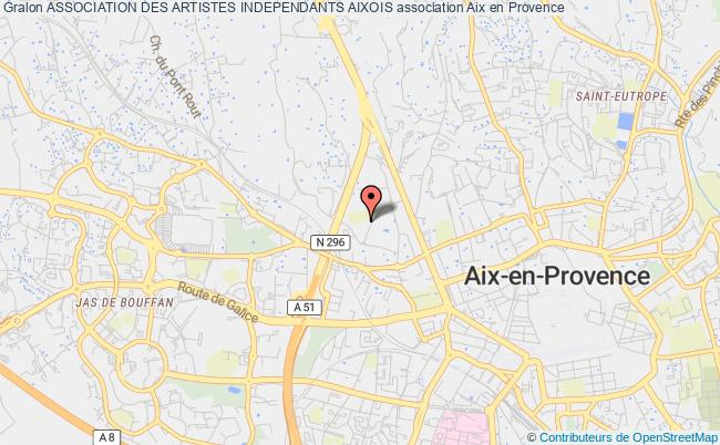 plan association Association Des Artistes Independants Aixois