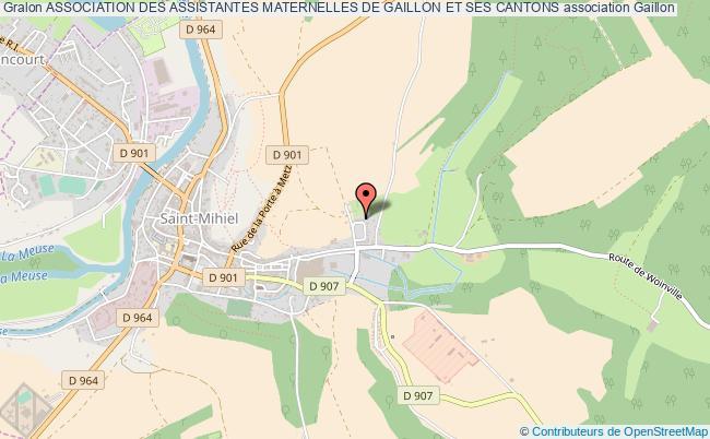 plan association Association Des Assistantes Maternelles De Gaillon Et Ses Cantons Gaillon