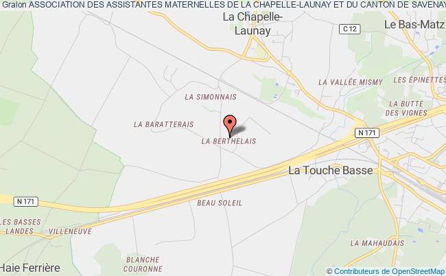 plan association Association Des Assistantes Maternelles De La Chapelle-launay Et Du Canton De Savenay