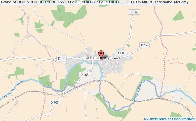 plan association Association Des Assistants Familiaux Sur La Region De Coulommiers