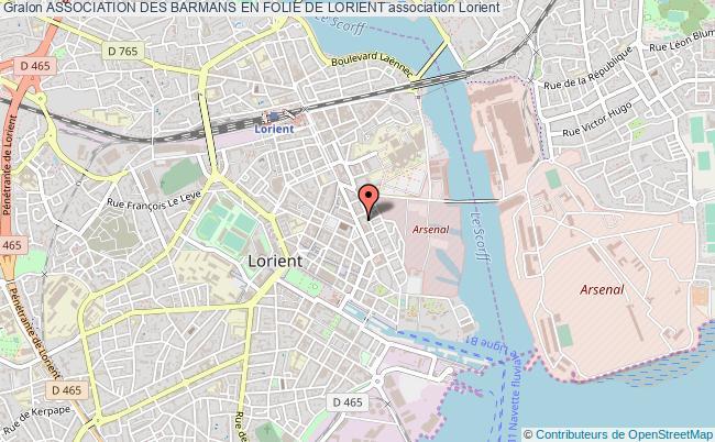 plan association Association Des Barmans En Folie De Lorient