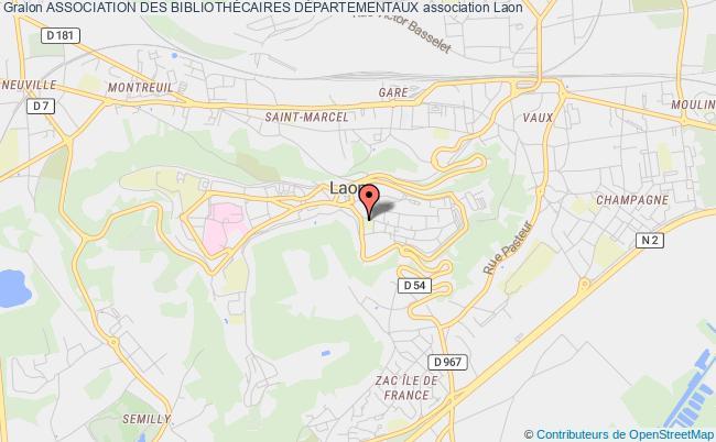 plan association Association Des BibliothÉcaires DÉpartementaux