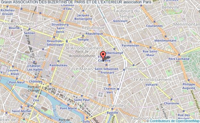 plan association Association Des Bizertins De Paris Et De L'exterieur