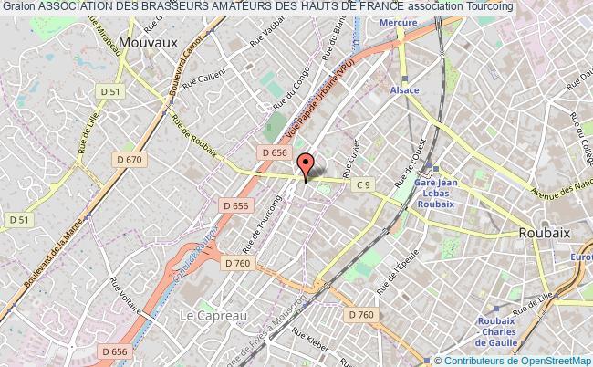 plan association Association Des Brasseurs Amateurs Des Hauts De France