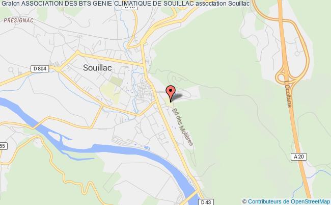 plan association Association Des Bts Genie Climatique De Souillac