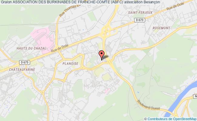 plan association Association Des Burkinabes De Franche-comte (abfc)
