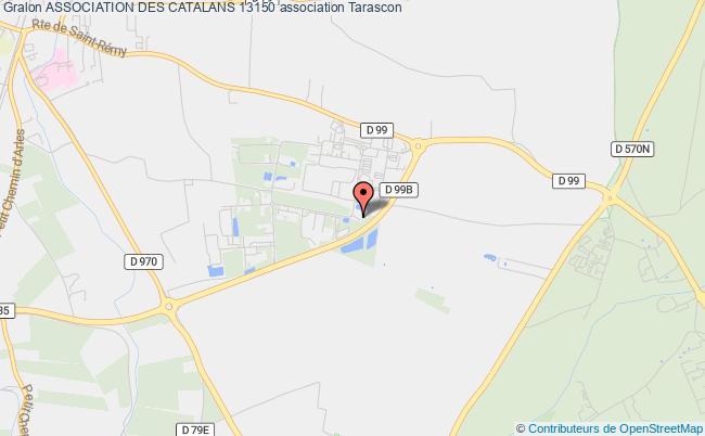 plan association Association Des Catalans 13150