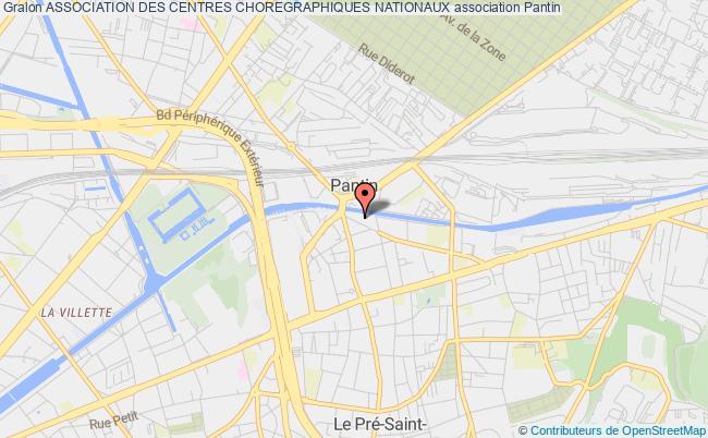 plan association Association Des Centres Choregraphiques Nationaux Caen