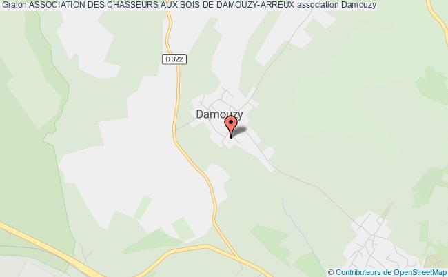 plan association Association Des Chasseurs Aux Bois De Damouzy-arreux