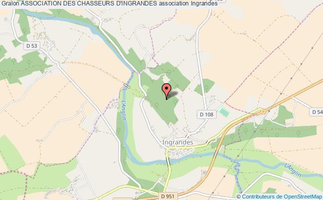 plan association Association Des Chasseurs D'ingrandes Ingrandes