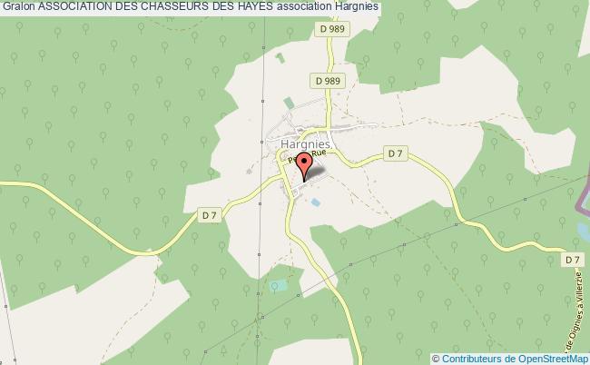 plan association Association Des Chasseurs Des Hayes