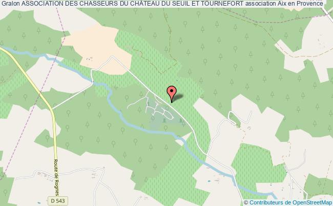 plan association Association Des Chasseurs Du ChÂteau Du Seuil Et Tournefort