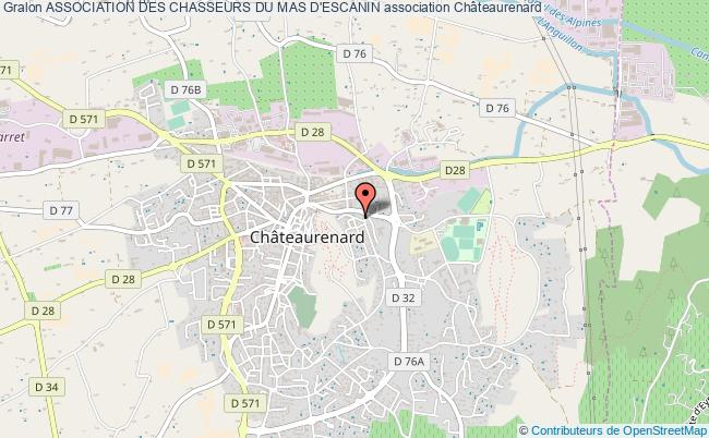 plan association Association Des Chasseurs Du Mas D'escanin