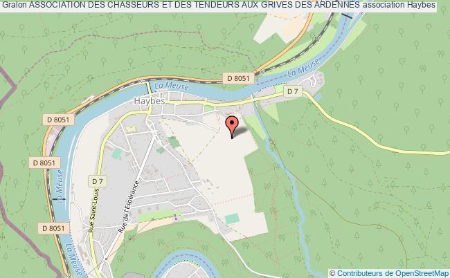 plan association Association Des Chasseurs Et Des Tendeurs Aux Grives Des Ardennes