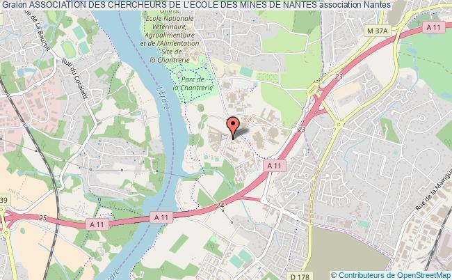 plan association Association Des Chercheurs De L'ecole Des Mines De Nantes