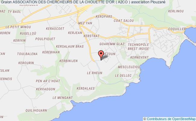 plan association Association Des Chercheurs De La Chouette D'or ( A2co )