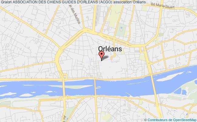 plan association Association Des Chiens Guides D'orleans (acgo)