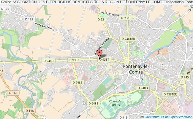 plan association Association Des Chirurgiens-dentistes De La Region De Fontenay Le Comte
