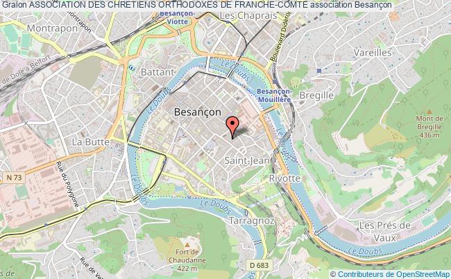 plan association Association Des Chretiens Orthodoxes De Franche-comte