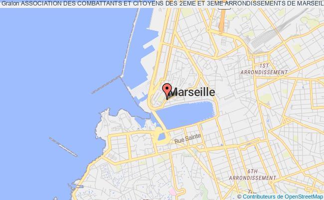 plan association Association Des Combattants Et Citoyens Des 2eme Et 3eme Arrondissements De Marseille (acc 2&3)