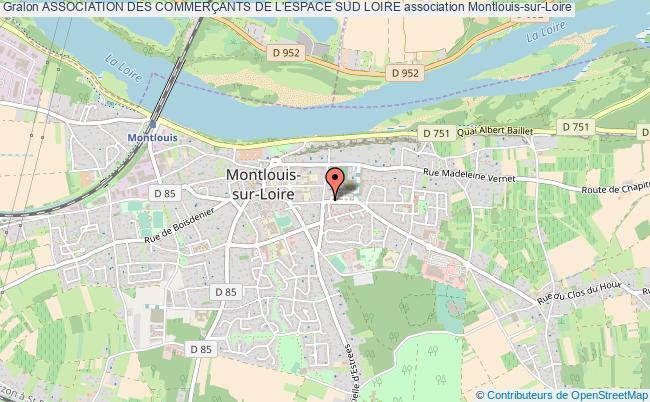 plan association Association Des CommerÇants De L'espace Sud Loire