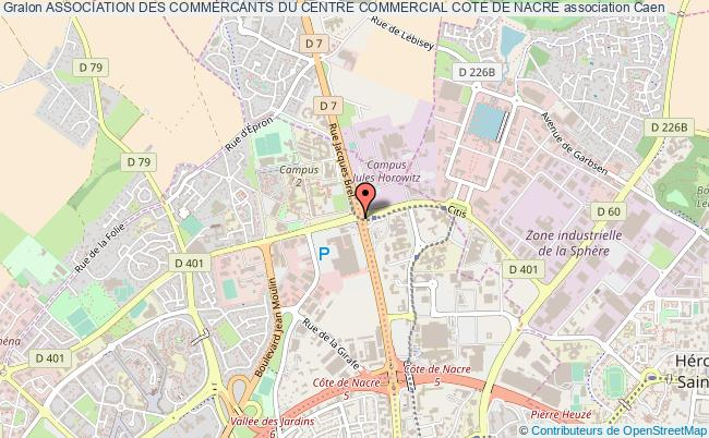ASSOCIATION DES COMMERCANTS DU CENTRE COMMERCIAL COTE DE NACRE