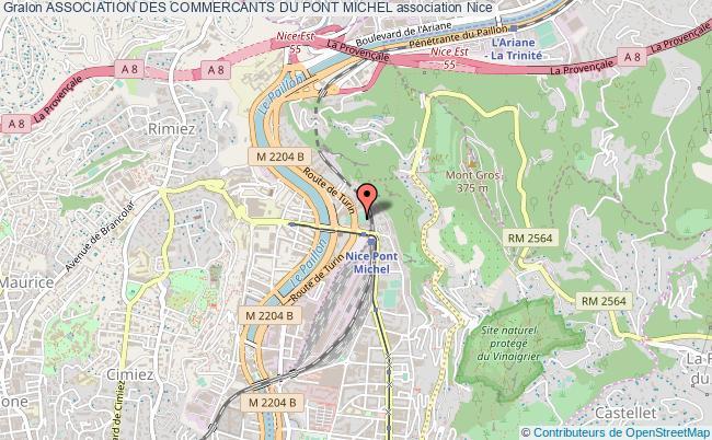 plan association Association Des Commercants Du Pont Michel