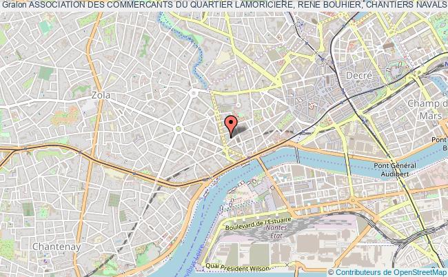 plan association Association Des Commercants Du Quartier Lamoriciere, Rene Bouhier, Chantiers Navals