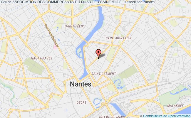 Carte Quartier Monselet Nantes.Association Des Commercants Du Quartier Saint Mihiel
