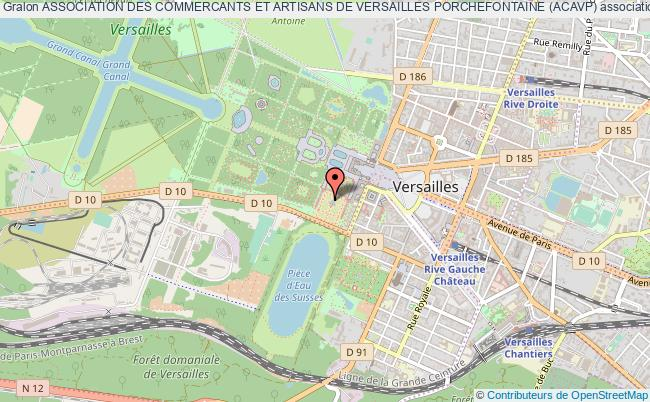 plan association Association Des Commercants Et Artisans De Versailles Porchefontaine (acavp)
