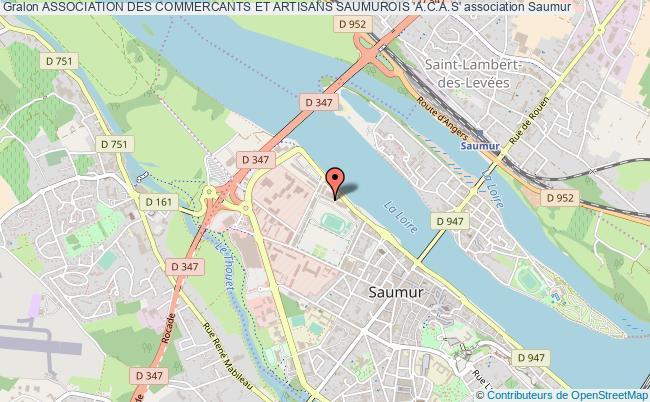 plan association Association Des Commercants Et Artisans Saumurois 'a.c.a.s'