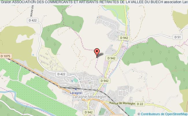 plan association Association Des Commercants Et Artisants Retraites De La Vallee Du Buech