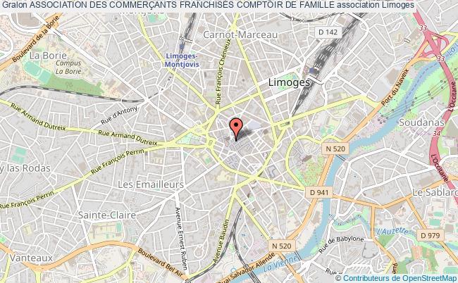 plan association Association Des CommerÇants FranchisÉs Comptoir De Famille