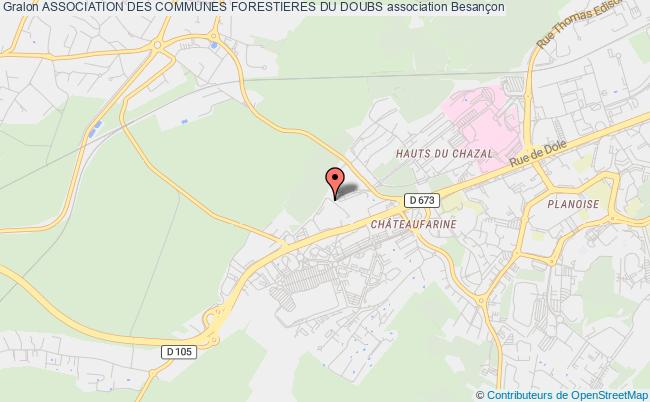 plan association Association Des Communes Forestieres Du Doubs