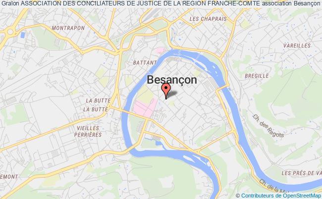 plan association Association Des Conciliateurs De Justice De La Region Franche-comte