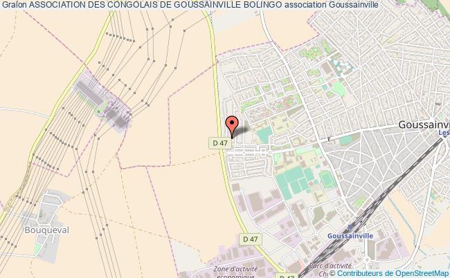 plan association Association Des Congolais De Goussainville Bolingo Goussainville