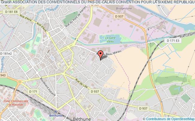 plan association Association Des Conventionnels Du Pas-de-calais Convention Pour La Sixieme Republique