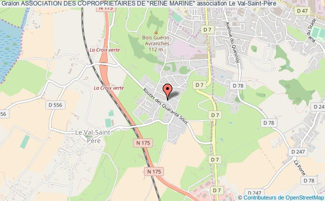 "plan association Association Des Coproprietaires De ""reine Marine"""
