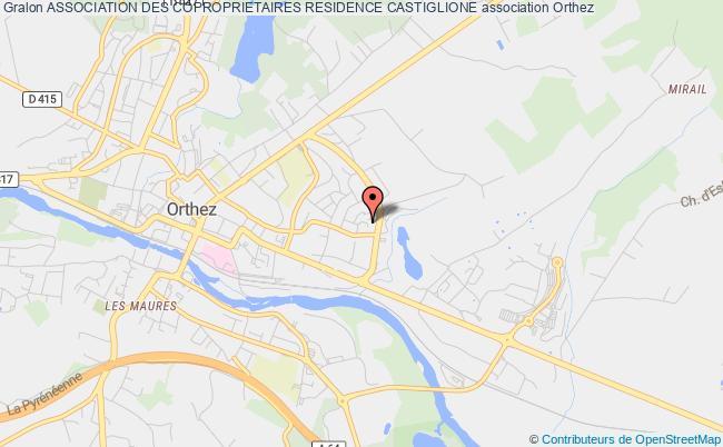 plan association Association Des Coproprietaires Residence Castiglione