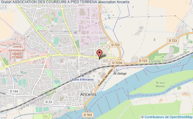 plan association Association Des Coureurs A Pied Terrena