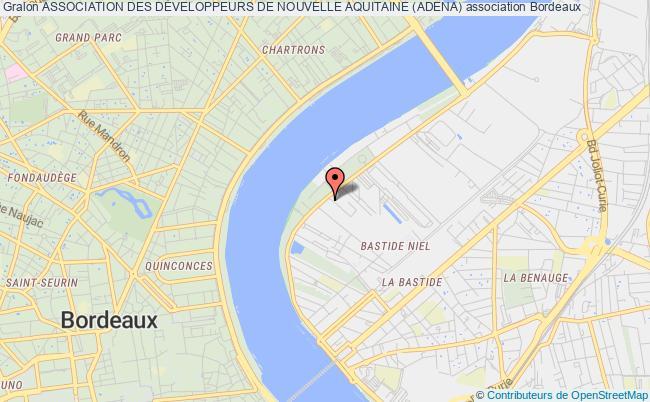 plan association Association Des DÉveloppeurs De Nouvelle Aquitaine (adena)