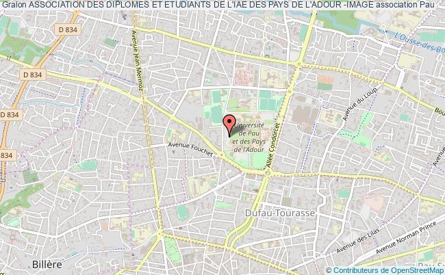 plan association Association Des Diplomes Et Etudiants De L'iae Des Pays De L'adour -image