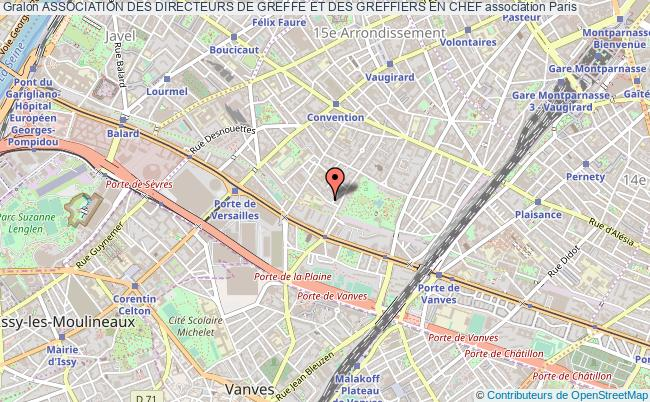 plan association Association Des Directeurs De Greffe Et Des Greffiers En Chef Paris