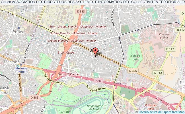 plan association Association Des Directeurs Des SystÈmes D'information Des CollectivitÉs Territoriales De La RÉgion Lyonnaise (adsictrl) Bron