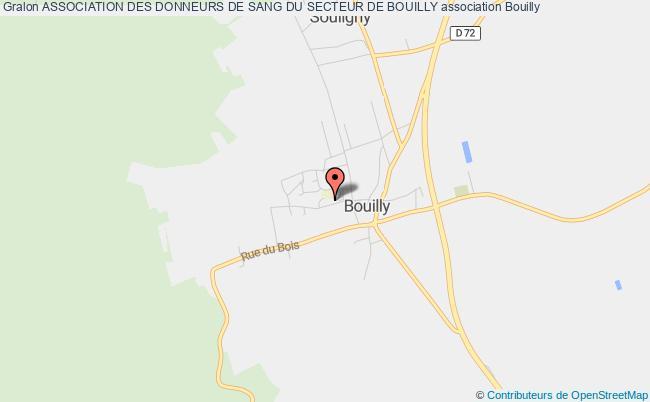 plan association Association Des Donneurs De Sang Du Secteur De Bouilly